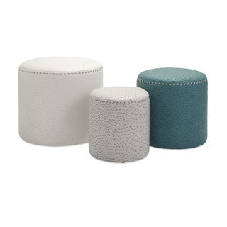 Claire Ottomans (Set of 3)