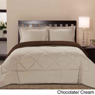 Reversible All Season Down Alternative 3-piece Comforter Set