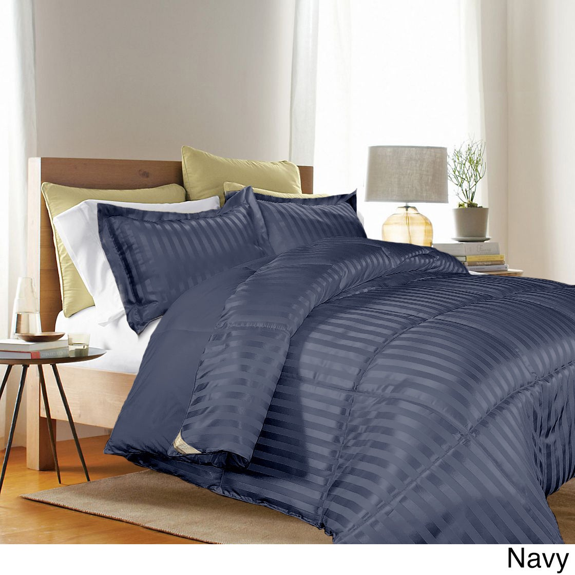 Kathy Ireland HOME Reversible Down Alternative 3 Piece Comforter Set (3  Options Available)