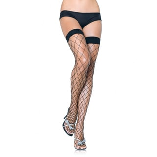 Women's Fence Net Thigh High
