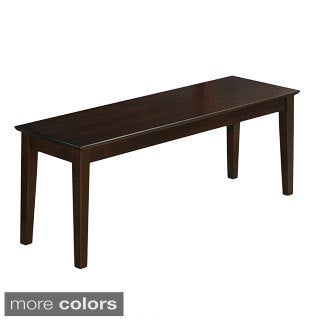 Capri Wooden Seat Dining Bench