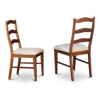 Henley Cinnamon/ Espresso Ladder Back Dining Chair (Set of 2)