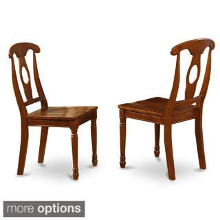 Napoleon-styled Saddle Brown kitchen chair