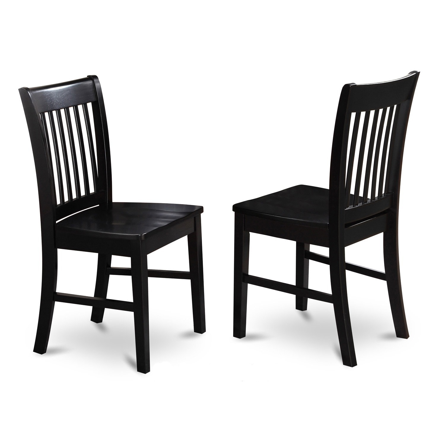 Copper Grove Cronewood Black Wooden Seat Dining Chair Set Of 2
