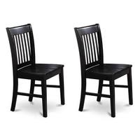 Copper Grove Cronewood Black Wooden Seat Dining Chair (Set of 2)