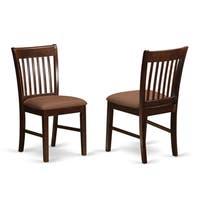 Norfolk Mahogany Dining Chairs (Set of 2)