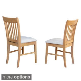 Norfolk Oak Kitchen Dining Chair (Set of 2)
