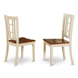 Nicoli Buttermilk/ Cherry Dining Chair