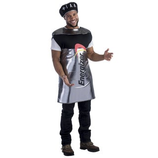 Dress Up America Men's Energizer Battery Costume