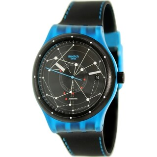 Swatch Men's Originals SUTS401 Black Rubber Automatic Watch