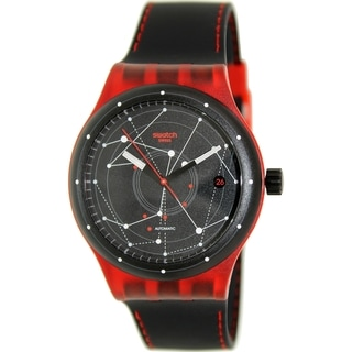 Swatch Men's Originals SUTR400 Black Rubber Swiss Automatic Watch
