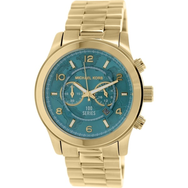 Michael Kors Women's Hunger Stop Goldtone Stainless Steel Quartz Watch