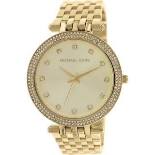 Michael Kors Women's Darci MK3216 Goldtone Stainless Steel Quartz Watch
