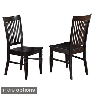 Weston Wooden Slatted Back Dining Chair