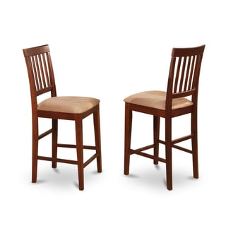 Vernon Mahogany Counter Stools (Set of 2)