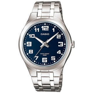 Casio Men's MTP1310D-2BV Blue Stainless Steel Quartz Watch
