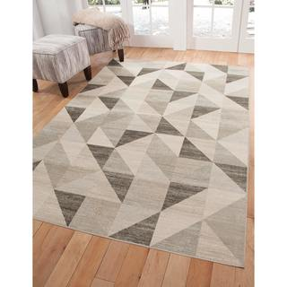 Greyson Living Budle Grey Area Rug (5'3 x 7'6)