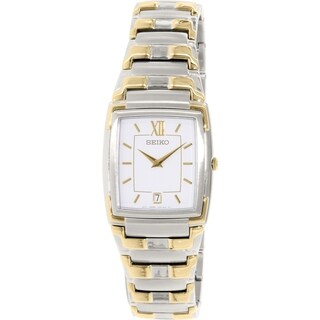 Seiko Women's SKP250 Goldtone Stainless Steel Quartz Watch