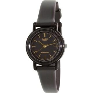 Casio Women's Core LQ139A-1E Black Resin Quartz Watch
