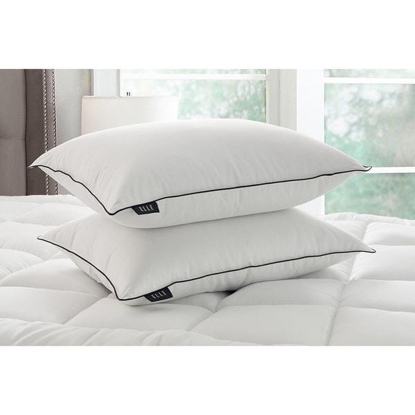 Elle 1200 Thread Count Cotton Rich Down Pillow