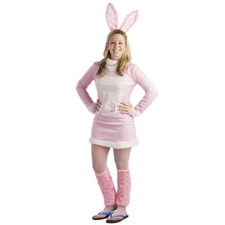 Women's Energizer Bunny Costume Dress Set