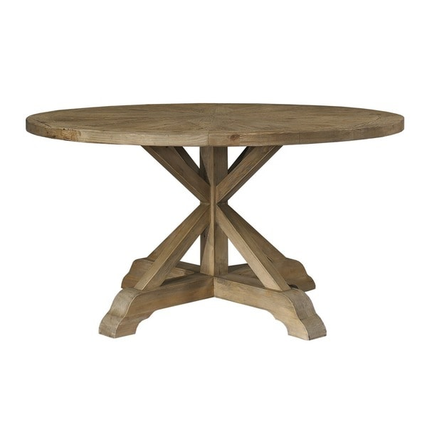 Salvaged Wood 60 Inch Round Dining Table Free Shipping Today