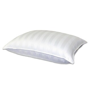 Supreme 350 Thread Count Cotton Damask White Down Pillow
