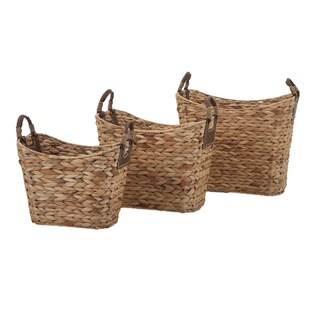 Niko Natural Weave Baskets (Set of 3)
