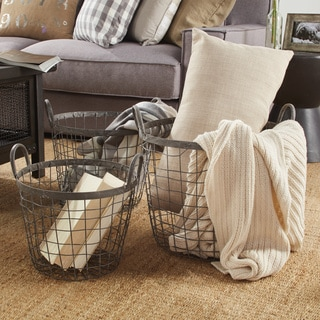 Metro Wire Baskets (Set of 3)