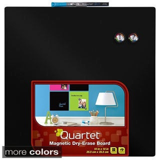 Quartet Dry-Erase Board, 14 x 14 Inches, 5 Color Options