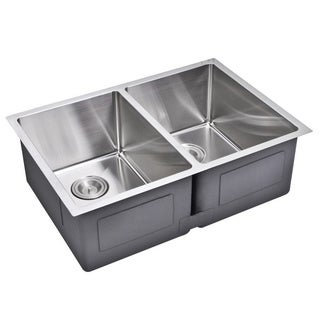 Starstar Stainless Steel Undermount Double Bowl Kitchen Sink