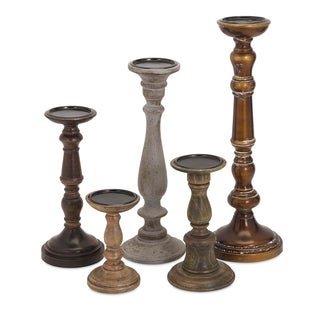 Rozzi Candleholders (Set of 5)