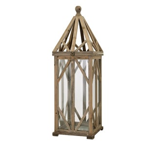 Garmen Wood Lantern - Large