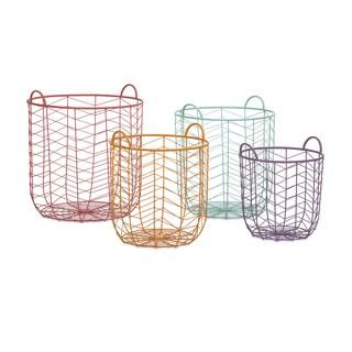 Maya Metal Baskets (Set of 4)