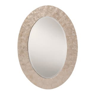 Embry Mother Of Pearl Mirror Free Shipping Today
