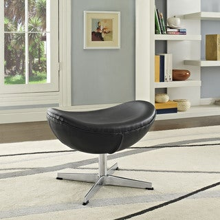 Grip Leather Ottoman