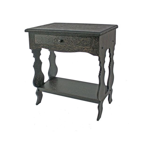 Teton Home Af-009 Grey Wood Table - N/A
