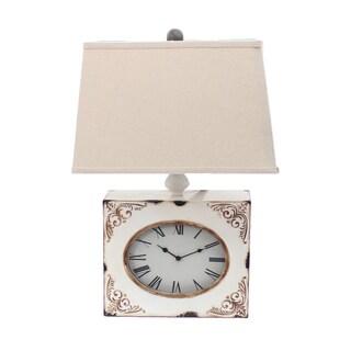Teton Home 2 Tl-032 Clock Table Lamp