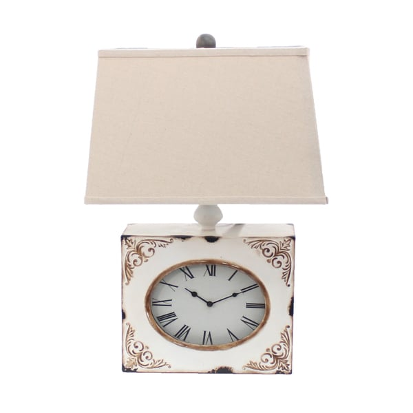 Teton Home 2 Tl-032 Clock Table Lamp