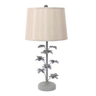 Teton Home 2 Tl-020 Metal Floral Table Lamp