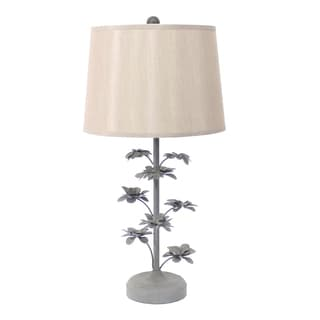 Teton Home 2 Tl-020 Metal Floral Table Lamp
