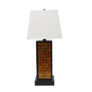 Teton Home 2 Tl-018 Bronze Brick Table Lamp