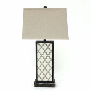 Teton Home 2 Tl-010 Moroccan-cut Table Lamp