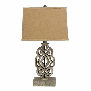 Teton Home 2 Tl-009 Filigree-cut Table Lamp