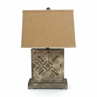 Teton Home 2 Tl-006 Circle Ring-cut Table Lamp