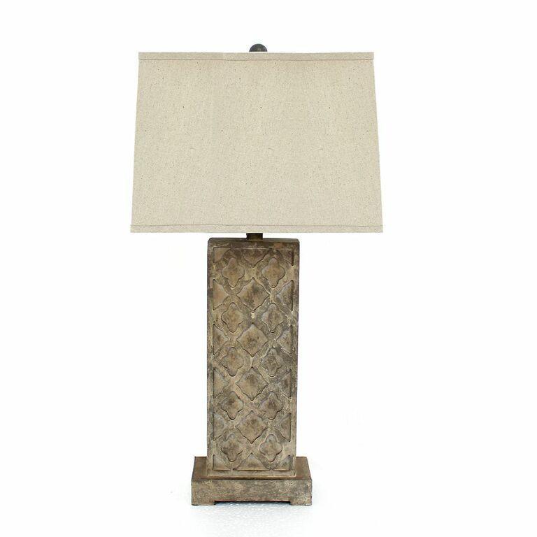 Teton Home 2 Tl-004 Moroccan-cut Table Lamp (Teton Home 2...