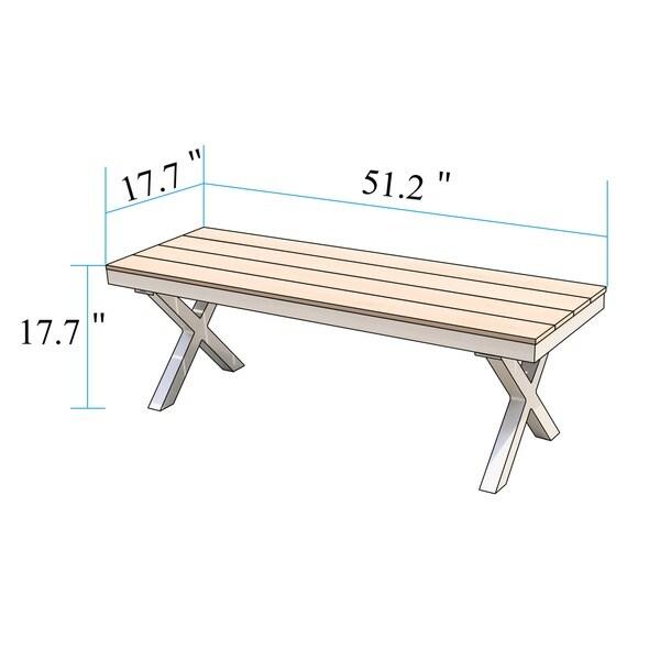 100 Cheap Patio Bench Amazon Com Best Selling Saint Kitts