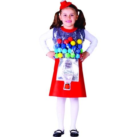 Girl's Gumball Machine Costume