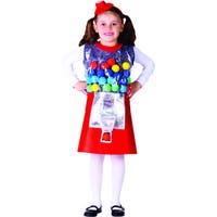 Girl's Gumball Machine Costume