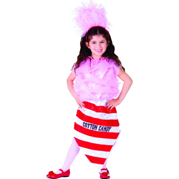 Girl S Cotton Candy Costume Free Shipping Today